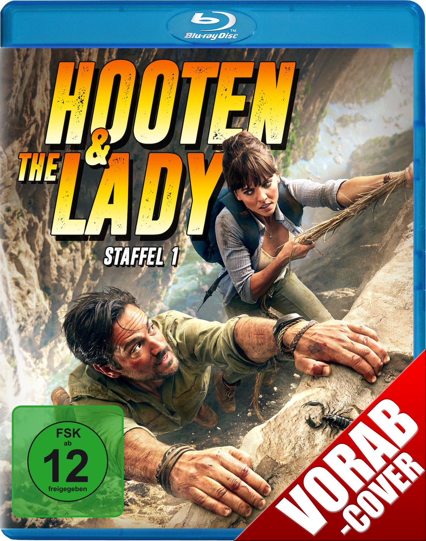 Hooten & the Lady - Staffel 1 (2 Discs) (BLURAY)