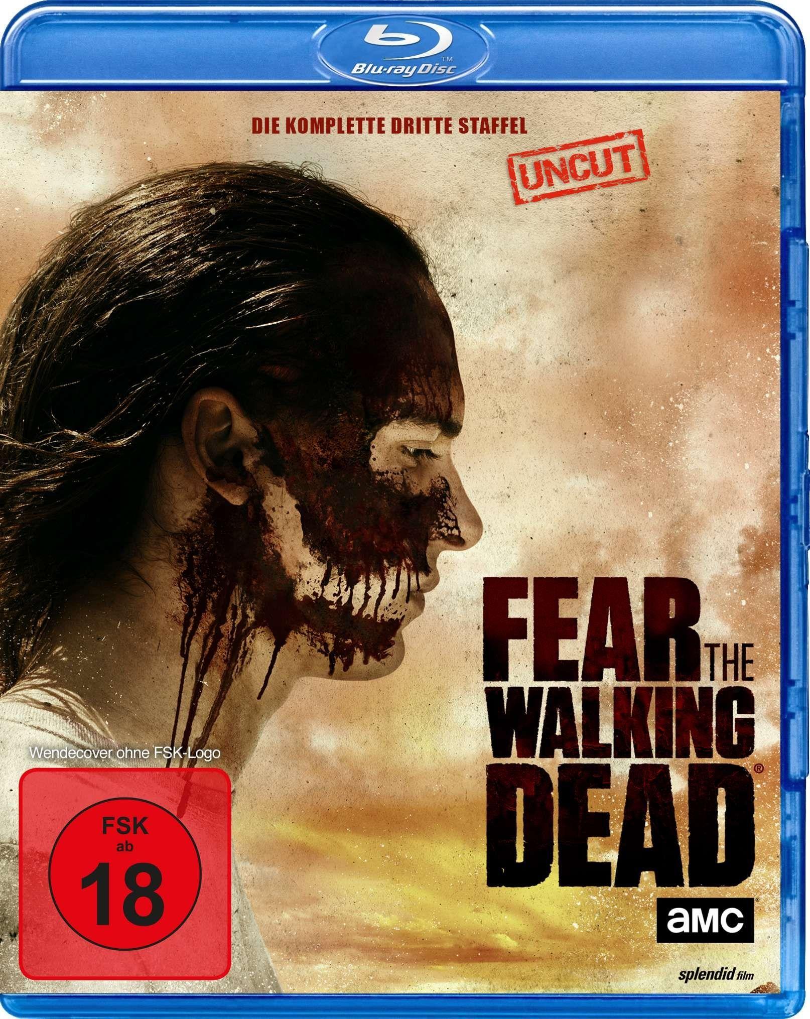 Fear the Walking Dead - Season 3 (Uncut) (4 Discs) (BLURAY)