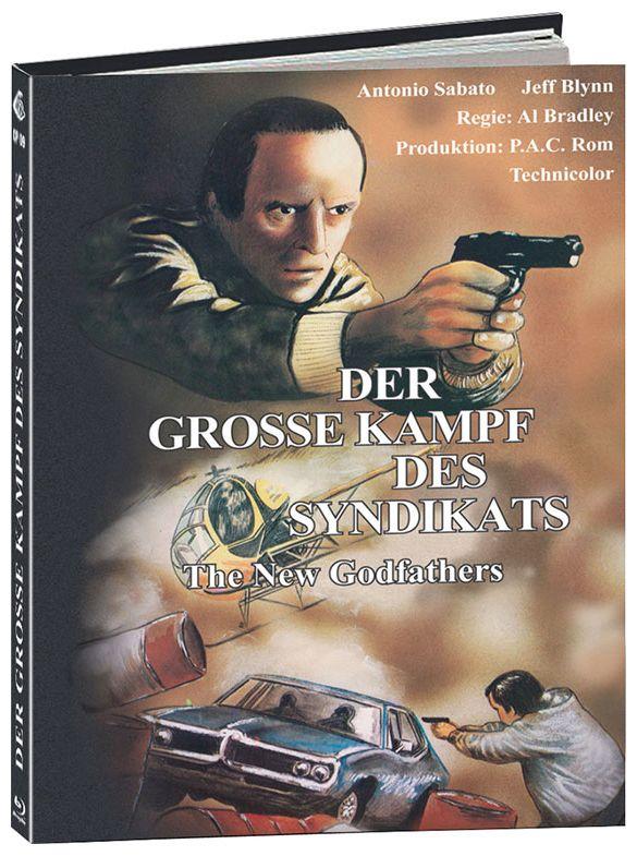Große Kampf des Syndikats, Der (Lim. Uncut Mediabook - Cover B) (BLURAY)