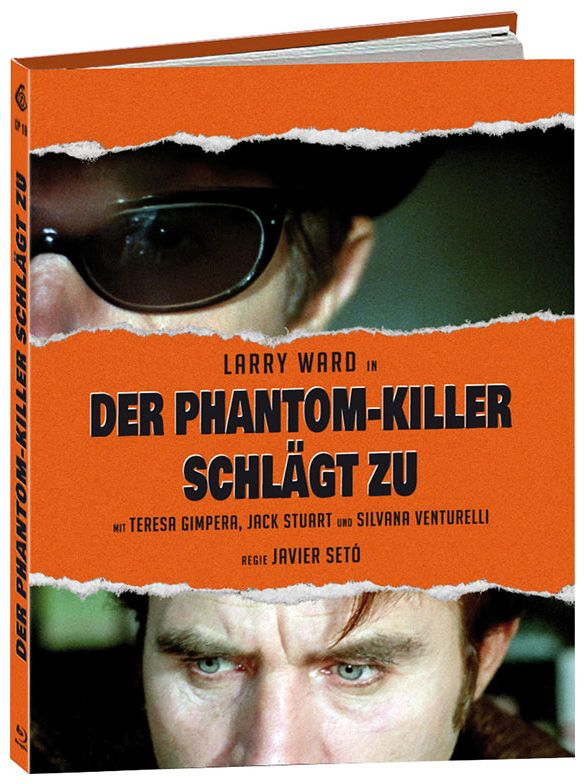 Phantom-Killer schlägt zu, Der (Lim. Uncut Mediabook - Cover D) (BLURAY)
