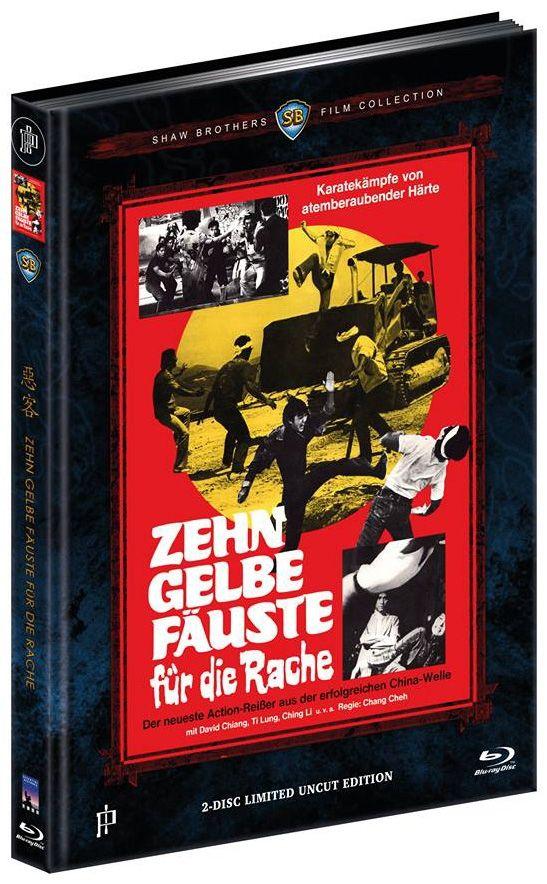 Zehn gelbe Fäuste für die Rache (Lim. Uncut Mediabook - Cover C) (DVD + BLURAY)