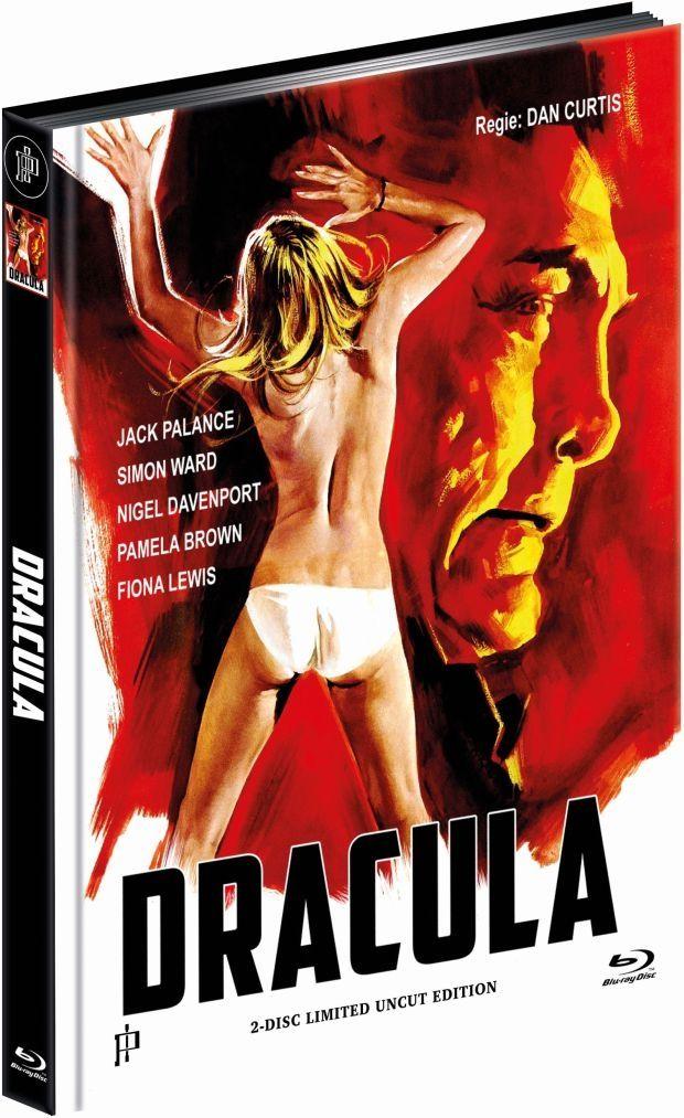 Dracula (1974) (Lim. Uncut Mediabook - Cover A) (DVD + BLURAY)
