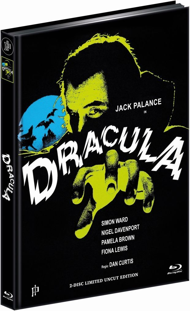 Dracula (1974) (Lim. Uncut Mediabook - Cover C) (DVD + BLURAY)