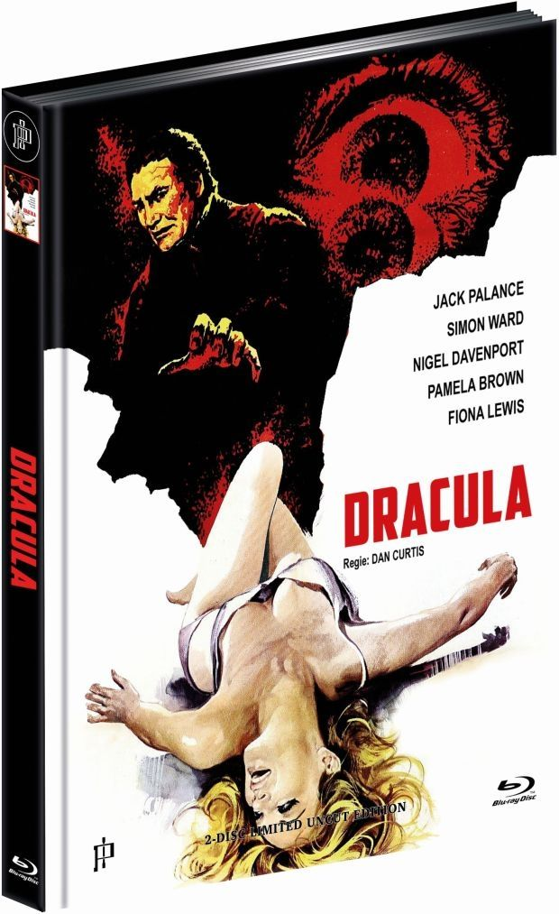 Dracula (1974) (Lim. Uncut Mediabook - Cover D) (DVD + BLURAY)