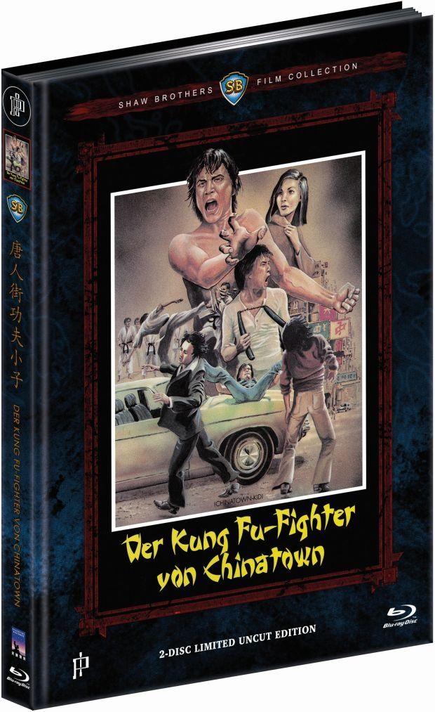 Kung Fu-Fighter von Chinatown, Der (Lim. Uncut Mediabook - Cover A) (DVD + BLURAY)