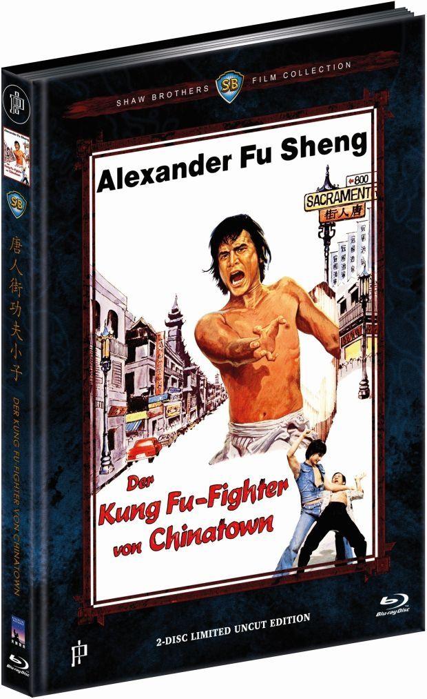 Kung Fu-Fighter von Chinatown, Der (Lim. Uncut Mediabook - Cover B) (DVD + BLURAY)