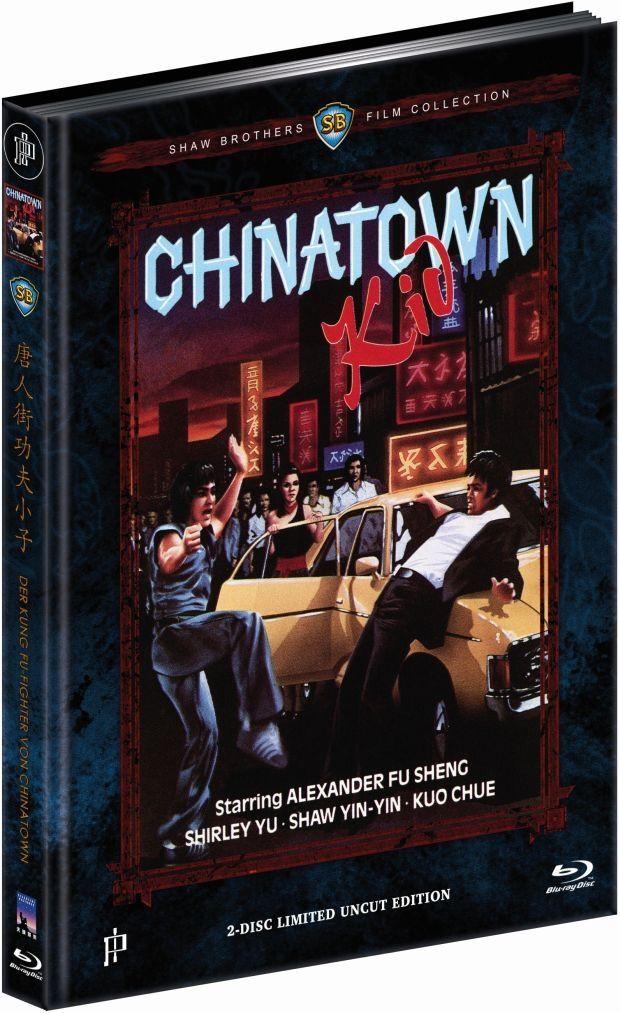 Kung Fu-Fighter von Chinatown, Der (Lim. Uncut Mediabook - Cover C) (DVD + BLURAY)