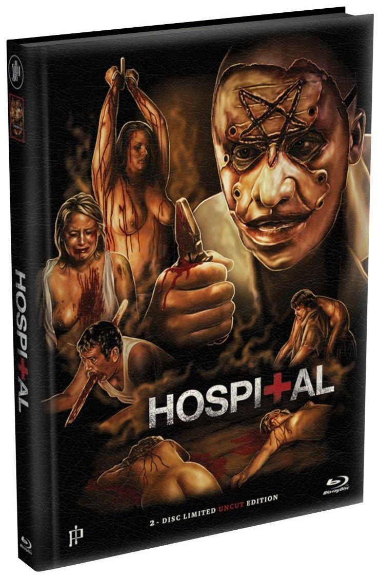 Hospital (Lim. Uncut wattiertes Mediabook - Cover A) (DVD + BLURAY)