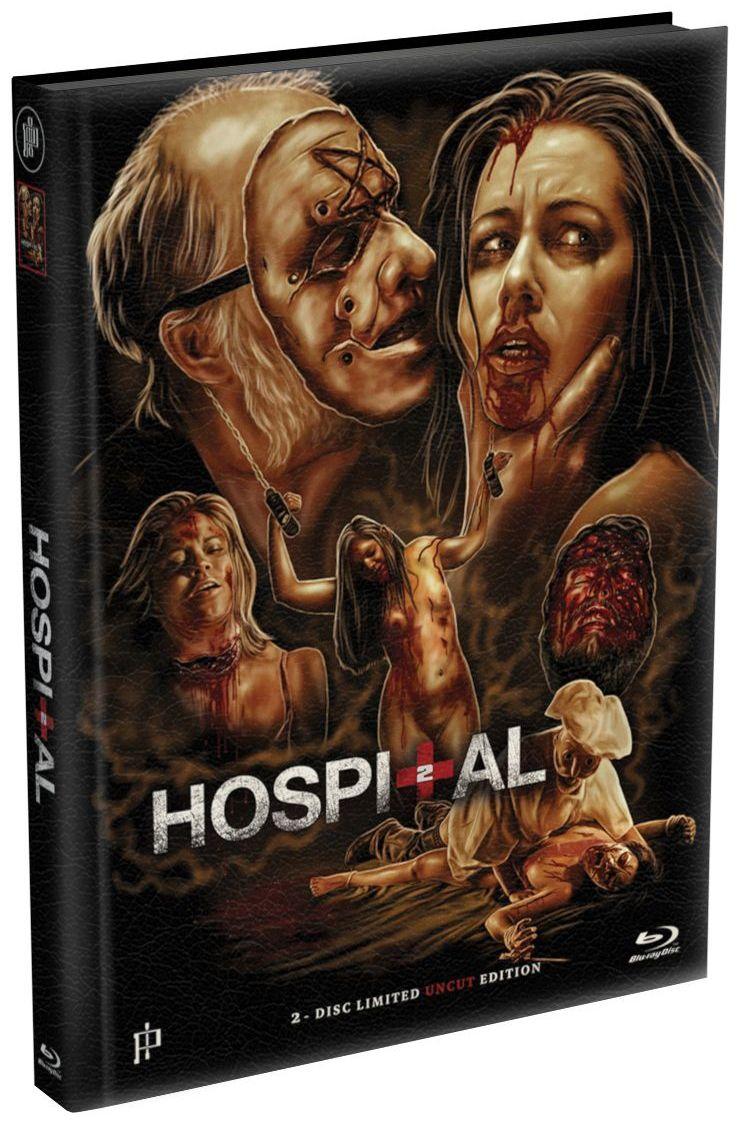 Hospital 2 (Lim. Uncut wattiertes Mediabook - Cover A) (DVD + BLURAY)