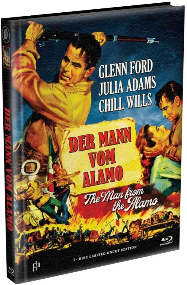 Mann aus Alamo, Der (Lim. Uncut wattiertes Mediabook) (BLURAY)