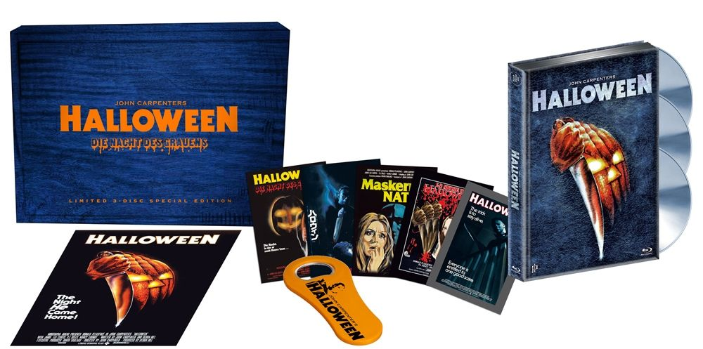 Halloween 1: Die Nacht des Grauens (Lim. 3-Disc Special Edition) (DVD + BLURAY + CD)