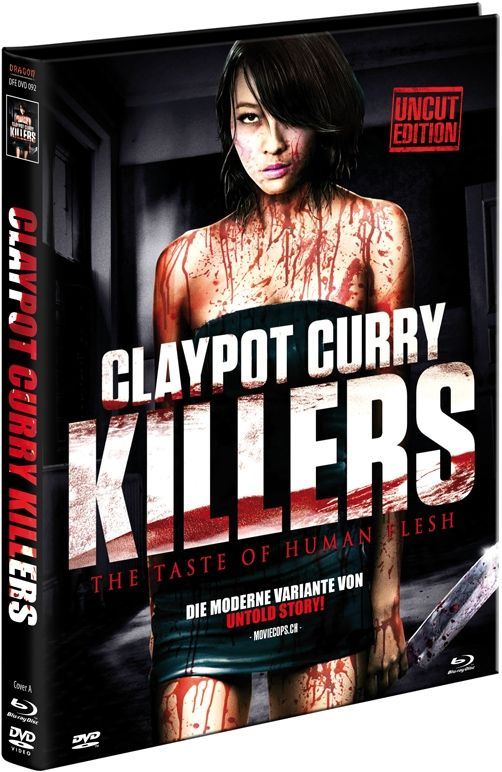 Claypot Curry Killers (Lim. Uncut Mediabook - Cover A) (DVD + BLURAY)