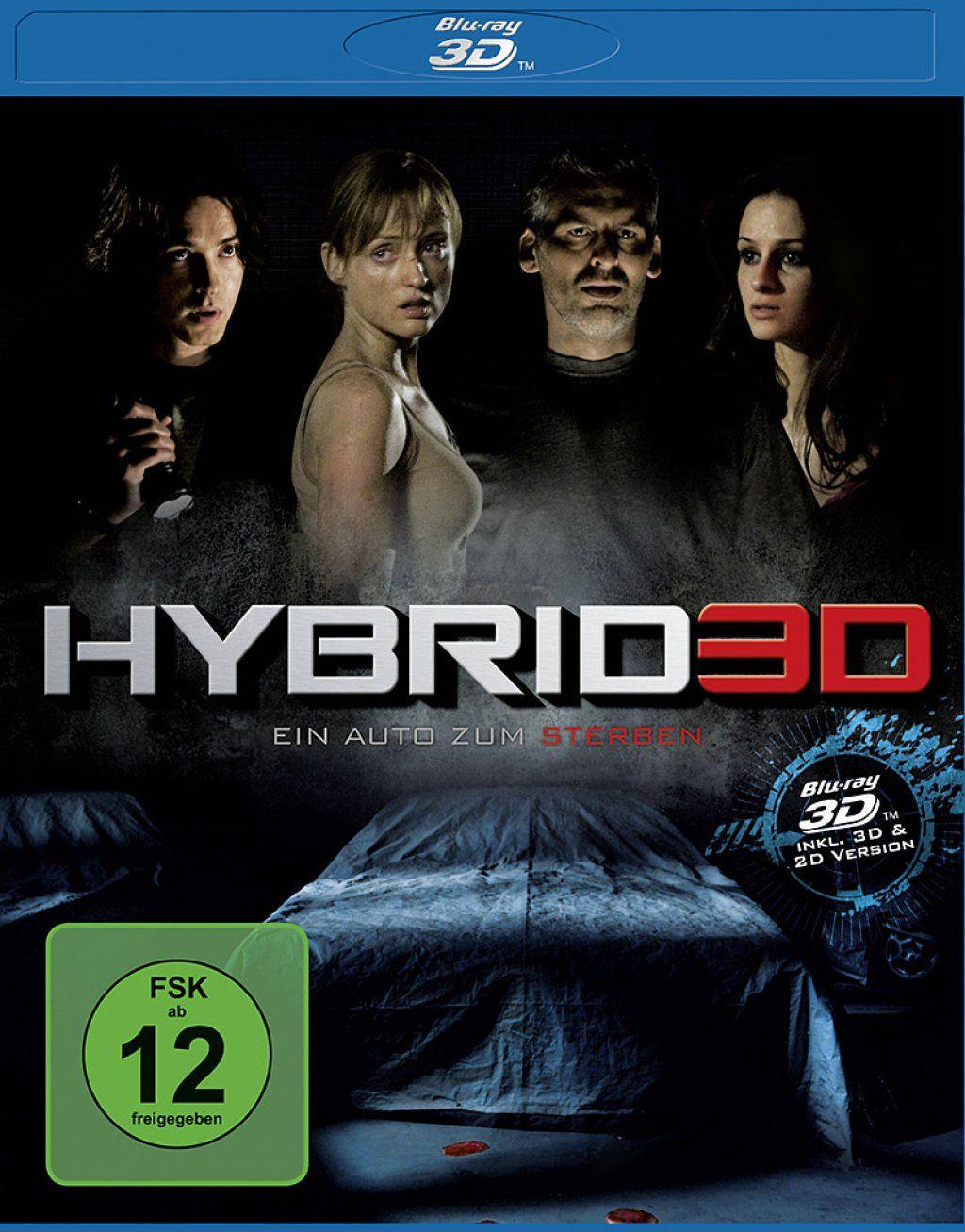 Hybrid 3D - Ein Auto zum Sterben (BLURAY 3D)