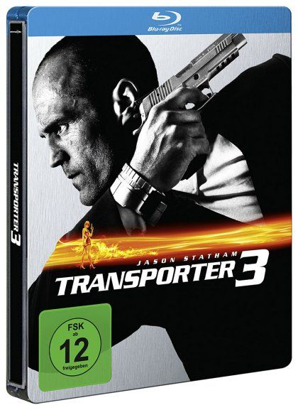 Transporter 3 (Lim. Steelbook) (BLURAY)