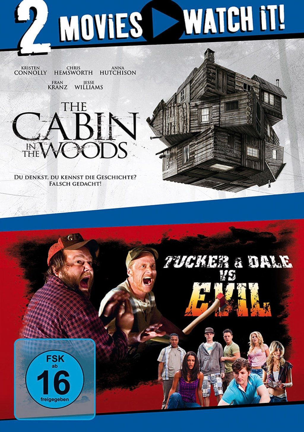Cabin in the Woods, The / Tucker and Dale vs. Evil (Double Feature) (2 Discs)