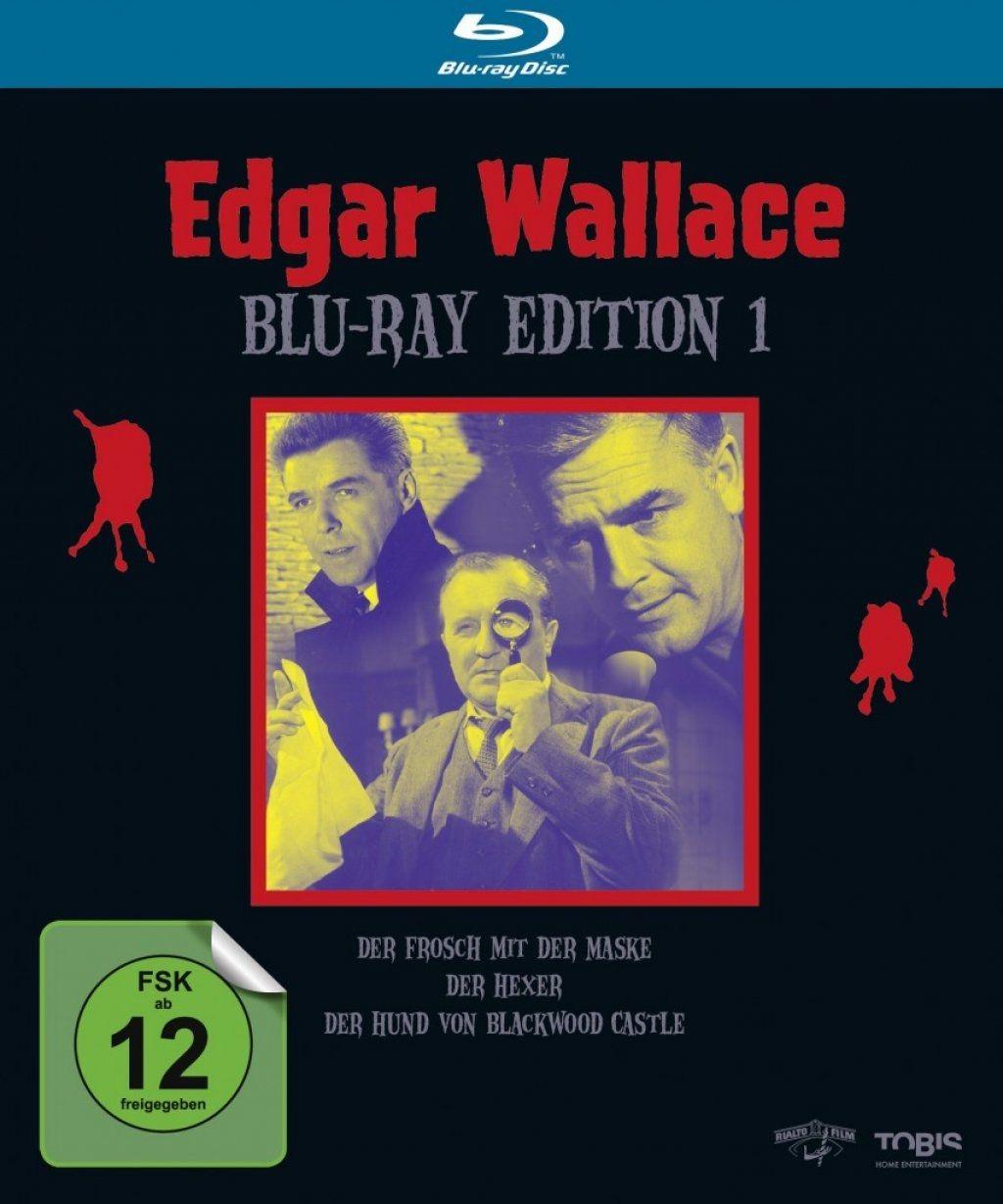 Edgar Wallace - Edition 1 (3 Discs) (BLURAY)