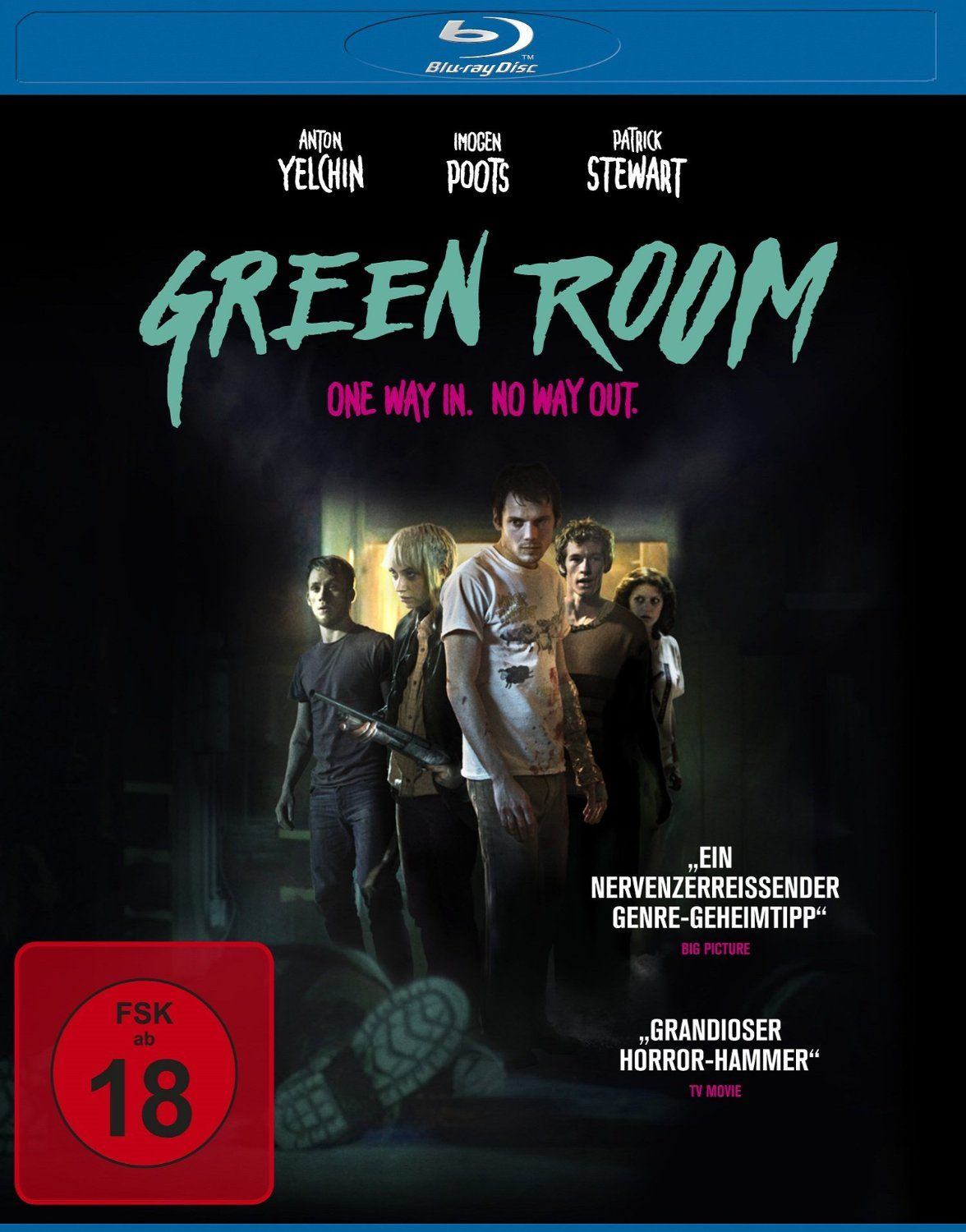 Green Room - One Way In. No Way Out. (BLURAY)