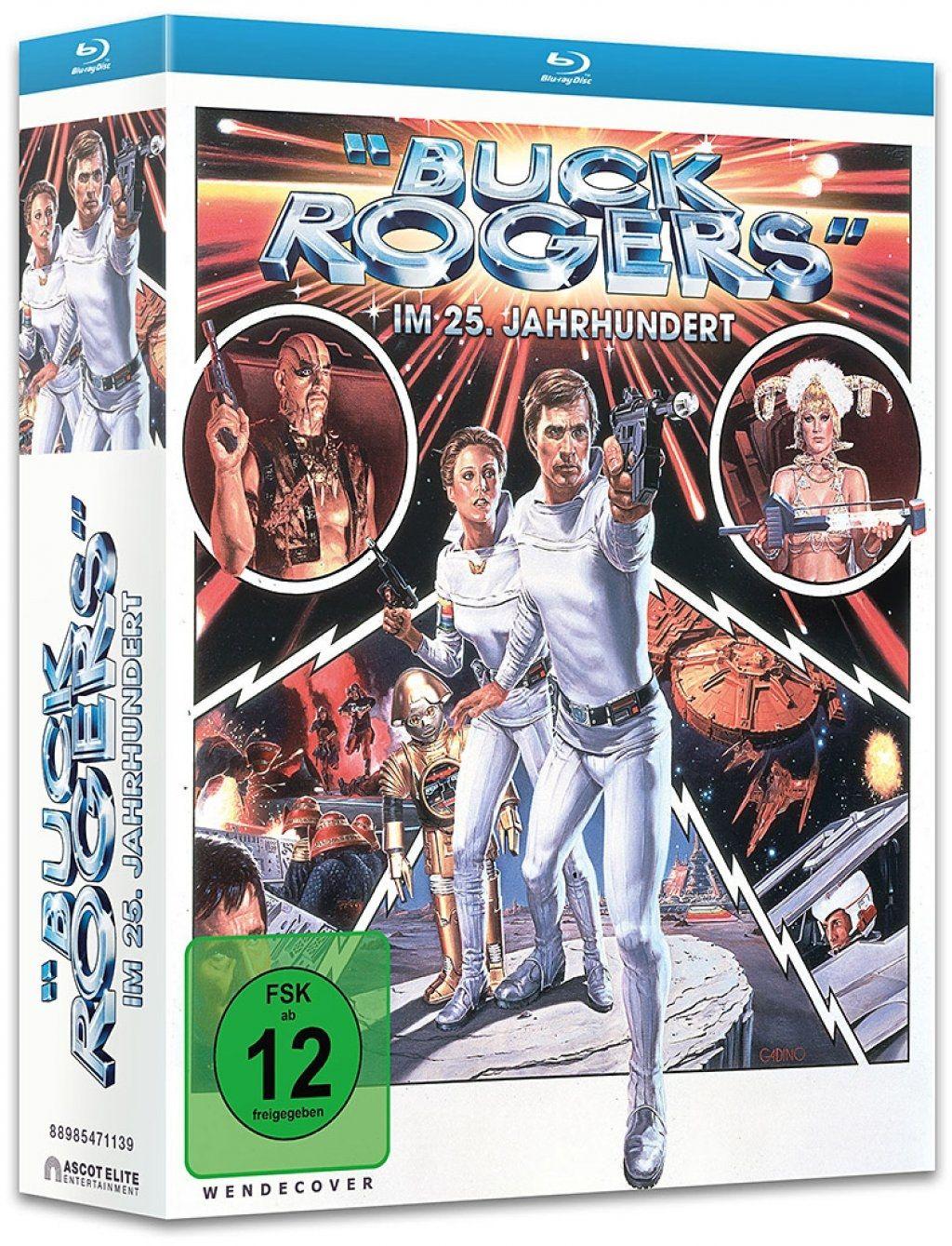 Buck Rogers im 25. Jahrhundert - Die komplette Serie (8 Discs) (BLURAY)