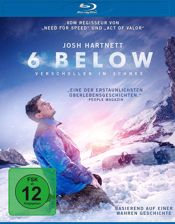 6 Below - Verschollen im Schnee (BLURAY)