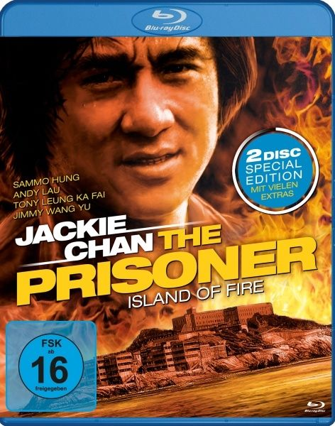 Jackie Chan - The Prisoner (Special Edition) (2 Discs) (BLURAY)