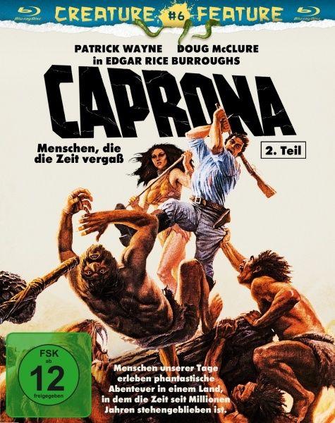 Caprona 2 - Menschen, die die Zeit vergaß (BLURAY)