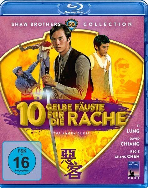 Zehn gelbe Fäuste für die Rache (Shaw Brothers Collection) (BLURAY)