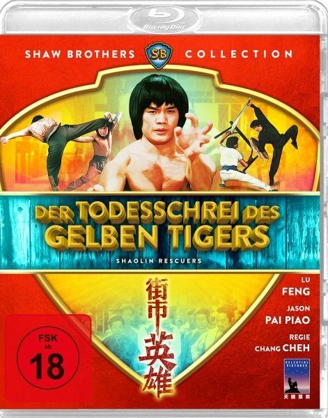 Todesschrei des gelben Tigers, Der (Shaw Brothers Collection) (BLURAY)