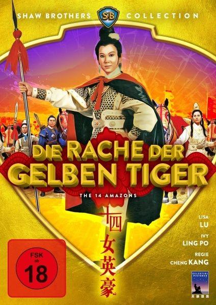Rache der gelben Tiger, Die (Shaw Brothers Collection)