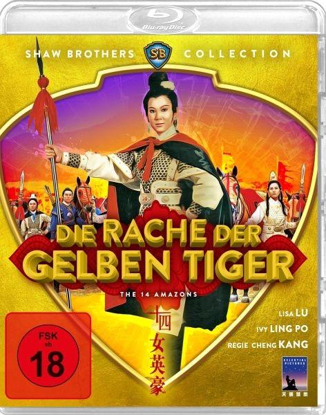 Rache der gelben Tiger, Die (Shaw Brothers Collection) (BLURAY)