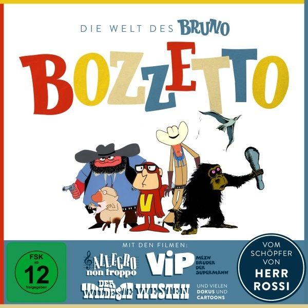 Welt des Bruno Bozzetto, Die (4 Discs)