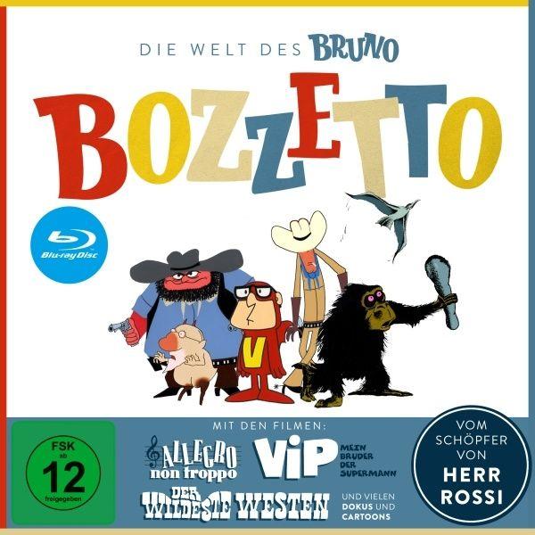 Welt des Bruno Bozzetto, Die (DVD + 3 BLURAY)