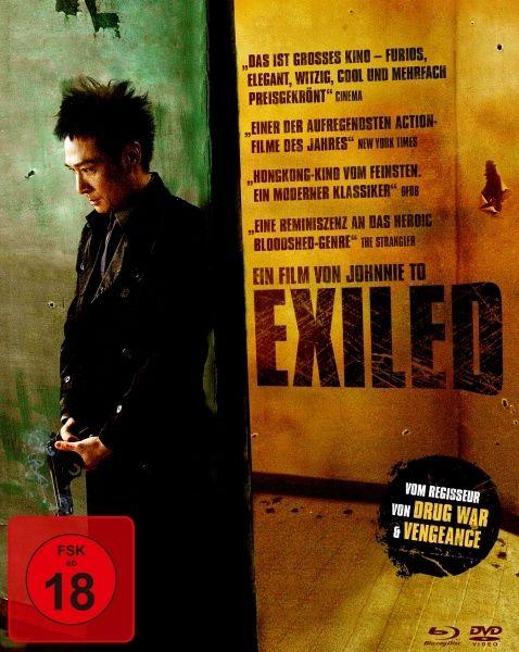 Exiled (Lim. Uncut Mediabook) (DVD + BLURAY)