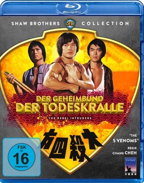 Geheimbund der Todeskralle, Der (Shaw Brothers Collection) (BLURAY)