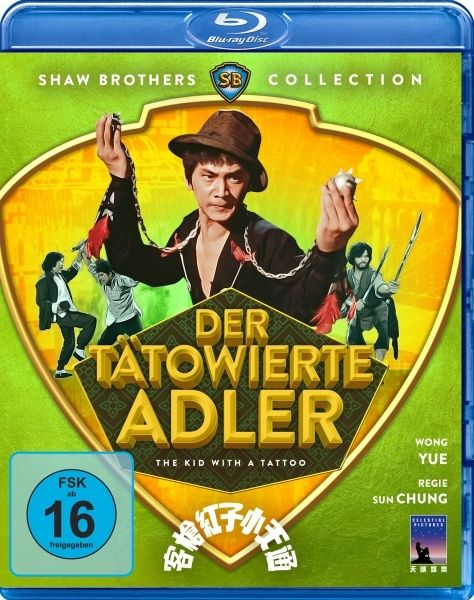 Tätowierte Adler, Der (Shaw Brothers Collection) (BLURAY)