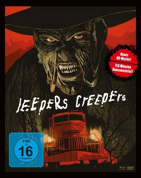 Jeepers Creepers - Es ist angerichtet (Lim. Uncut Mediabook) (2 DVD + BLURAY)