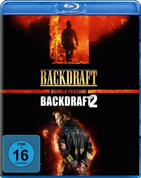 Backdraft 1+2 (Double Feature) (2 Discs) (BLURAY)