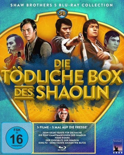 Tödliche Box des Shaolin, Die (Shaw Brothers Collection) (5 Discs) (BLURAY)