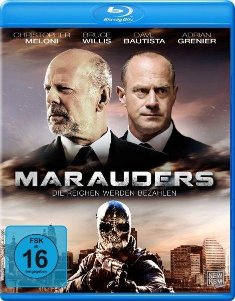 Marauders - Die Reichen werden bezahlen (BLURAY)