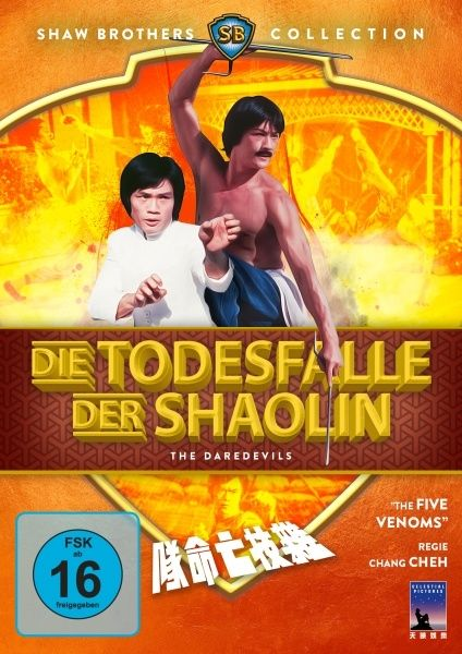 Todesfalle der Shaolin, Die (Shaw Brothers Collection)