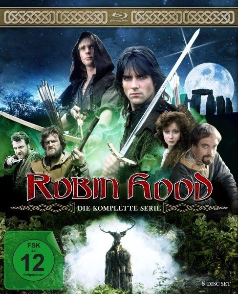 Robin Hood - Die komplette Serie (8 Discs) (BLURAY)