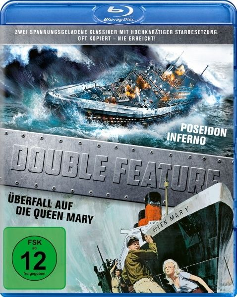 Poseidon Inferno / Überfall auf die Queen Mary (Double Feature) (2 Discs) (BLURAY)
