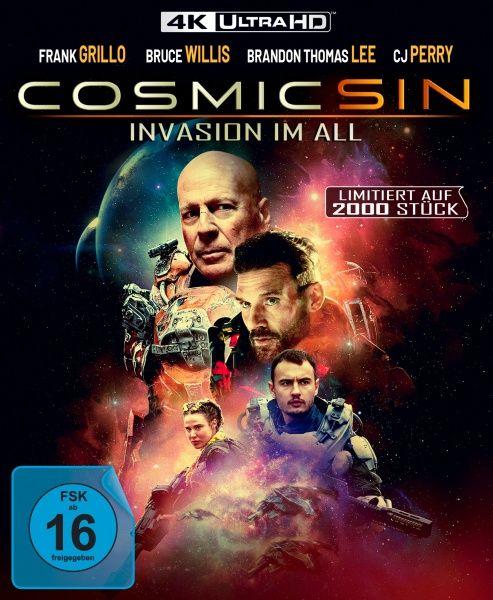 Cosmic Sin - Invasion im All (Lim. Edition) (UHD BLURAY)