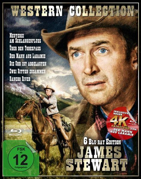 James Stewart - Western Collection (6 Discs)  (BLURAY)