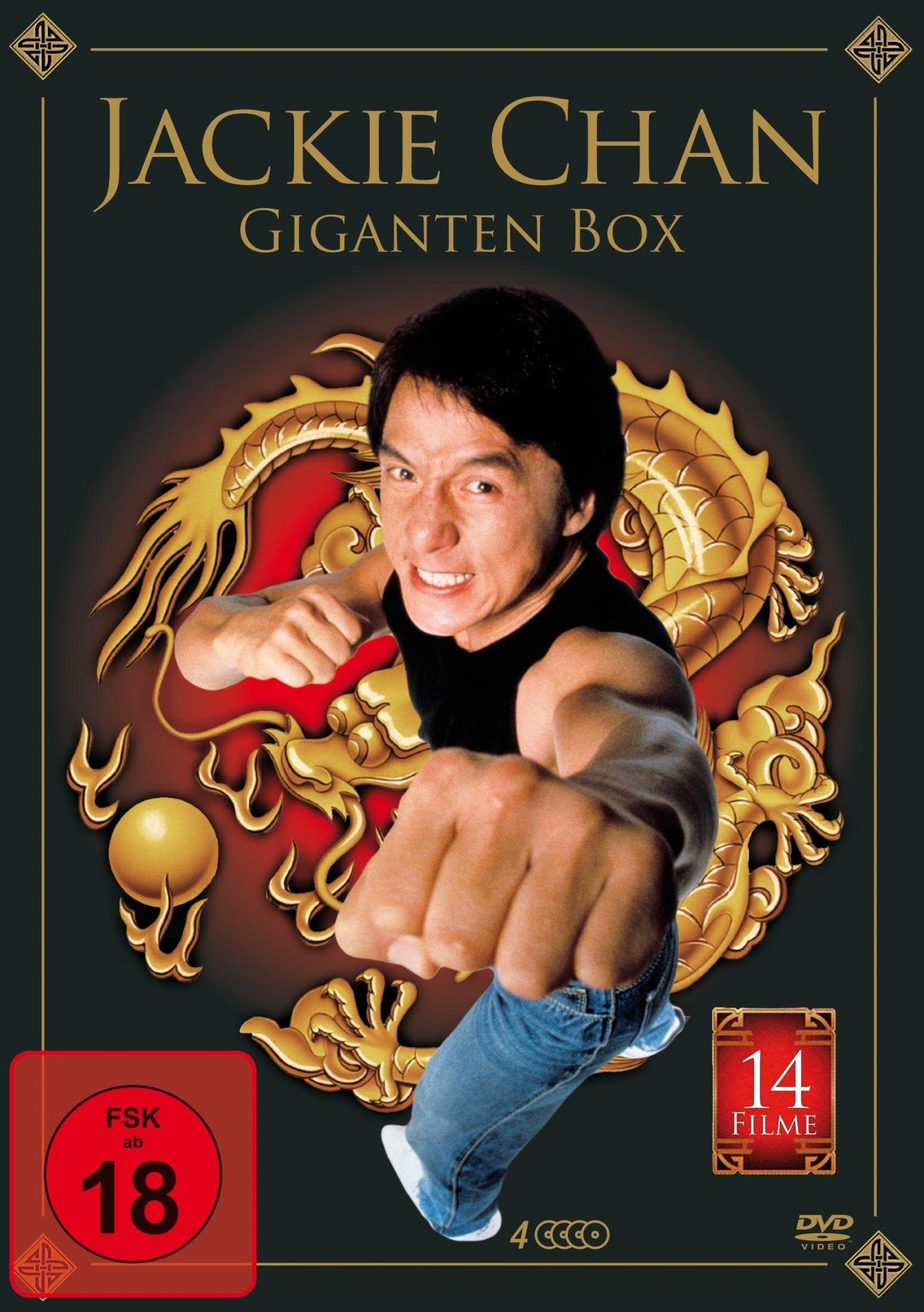 Jackie Chan Giganten Box (3 Discs)
