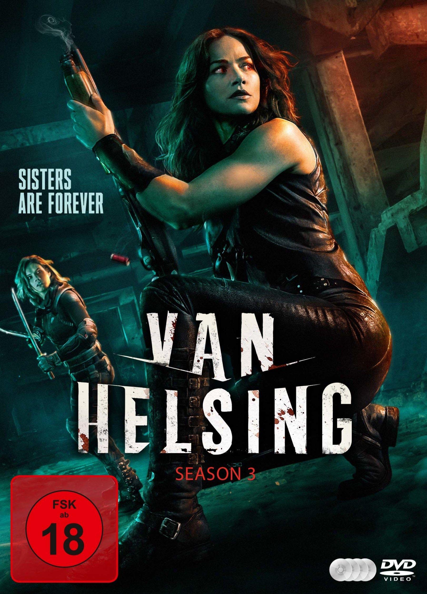 Van Helsing - Staffel 3 (4 Discs)