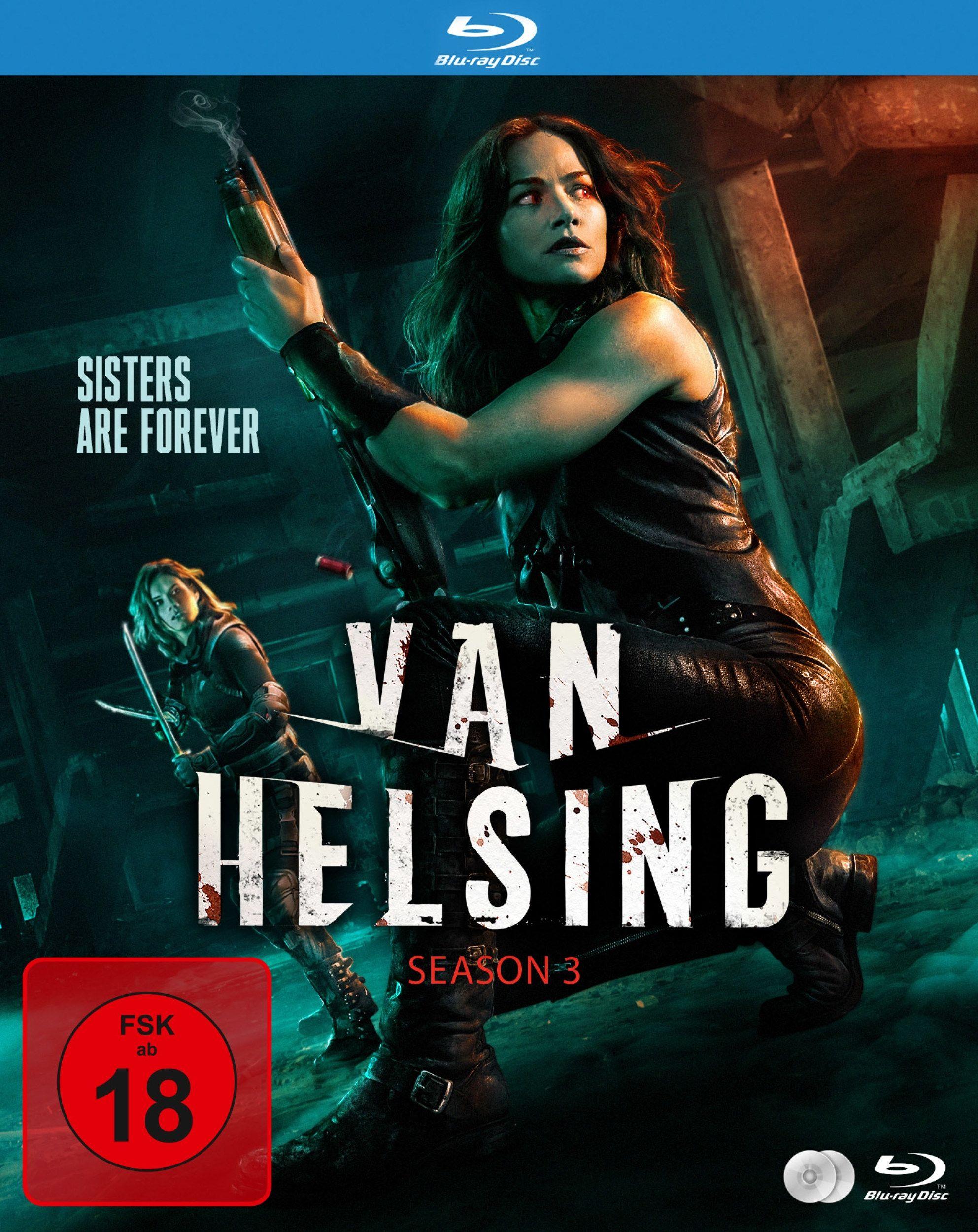 Van Helsing - Staffel 3 (2 Discs) (BLURAY)