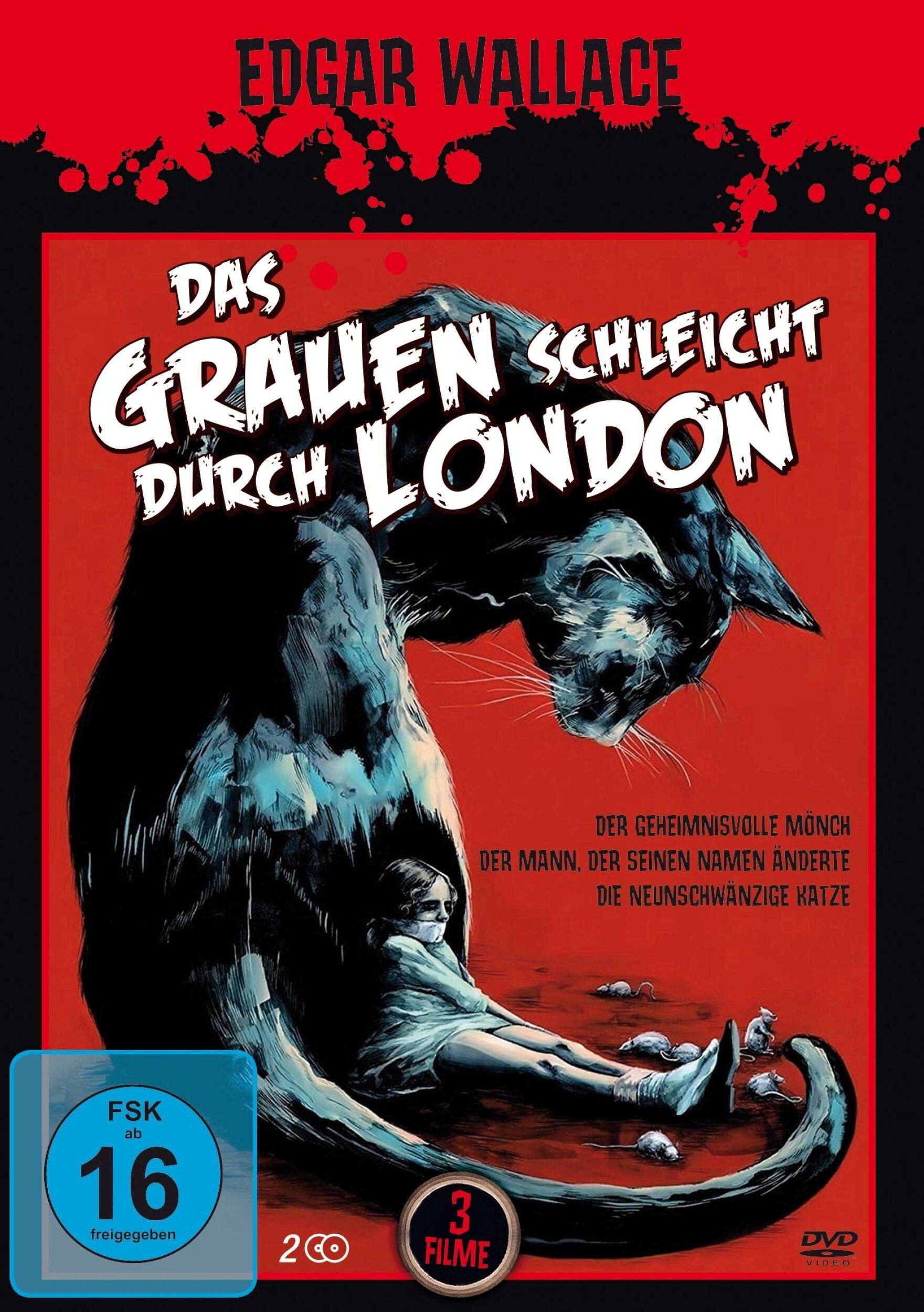 Edgar Wallace - Das Grauen schleicht durch London (2 Discs)