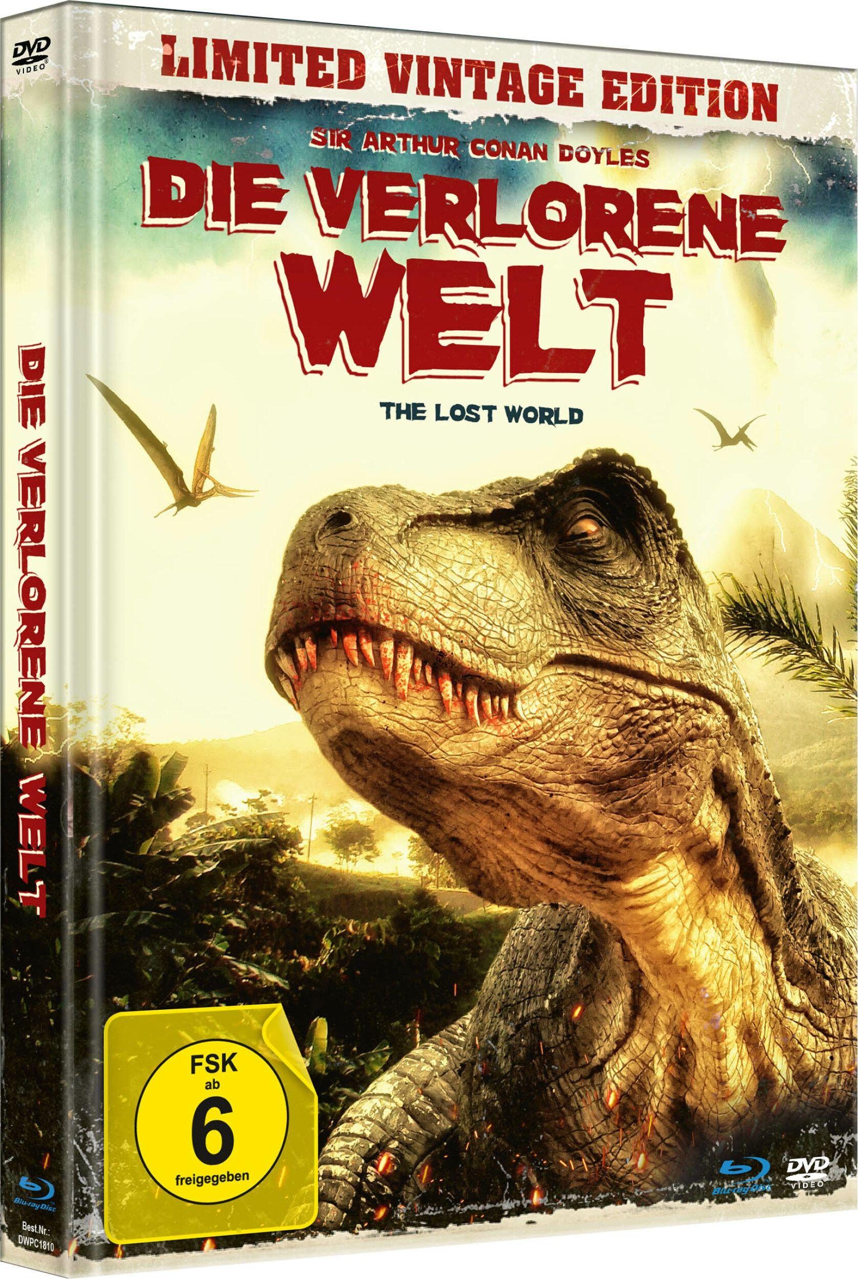 Verlorene Welt, Die (1925) (Lim. Uncut Mediabook) (DVD + BLURAY)