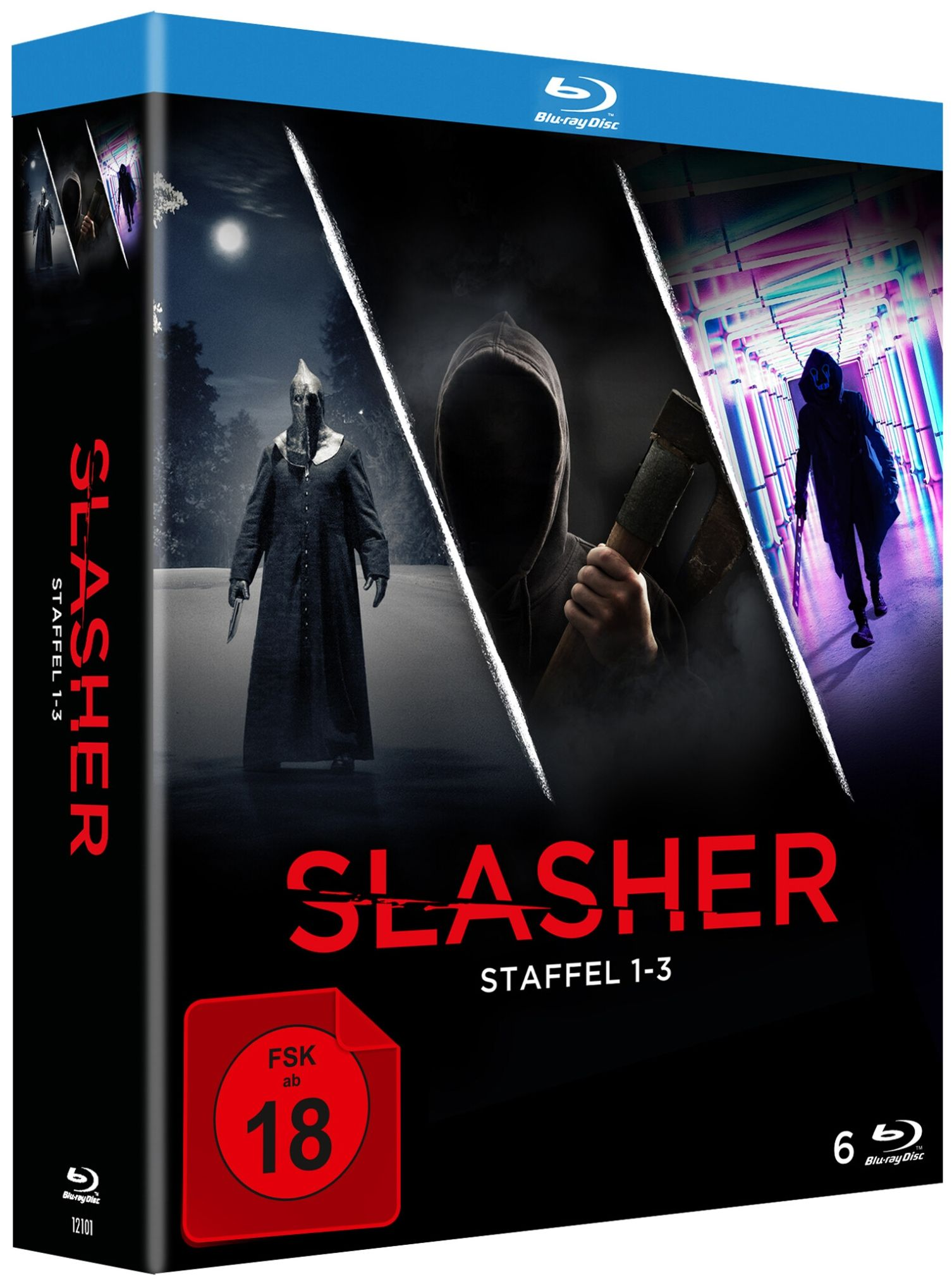 Slasher - Staffel 1-3 (6 Discs) (BLURAY)