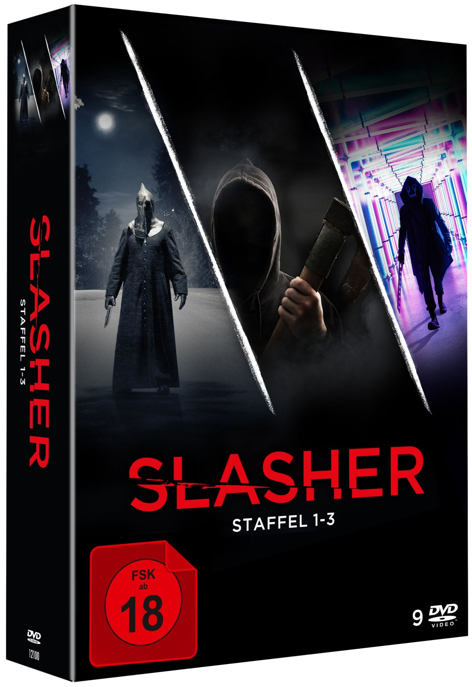 Slasher - Staffel 1-3 (9 Discs)